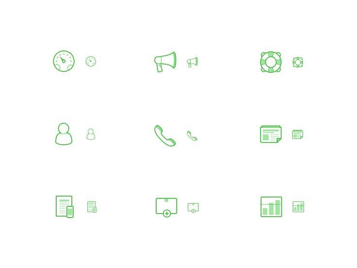 Icon set 1.0 by Søren Clausen