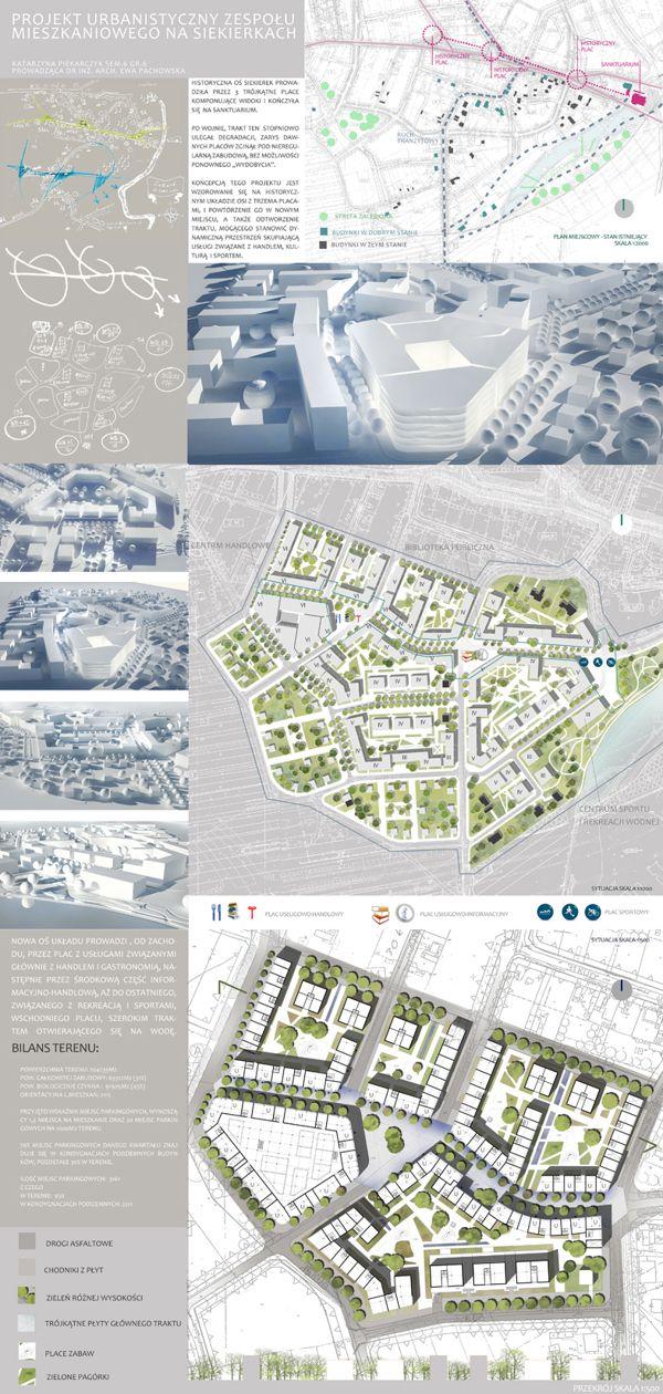 Urban Design - Siekierki District on Behance More