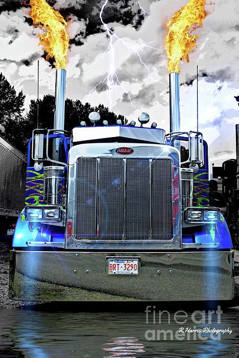 Big Rig Monster Stacks : Best images about big rig custom truck photos by r