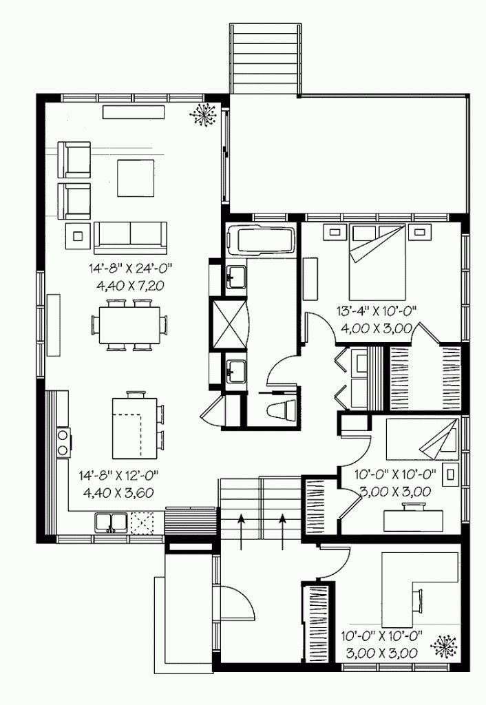 Modern Split Level House Plans Inspirational What Is A Split Floor Plan Beautiful Split Entr Modern Floor Plans Split Level House Plans Split Level Floor Plans