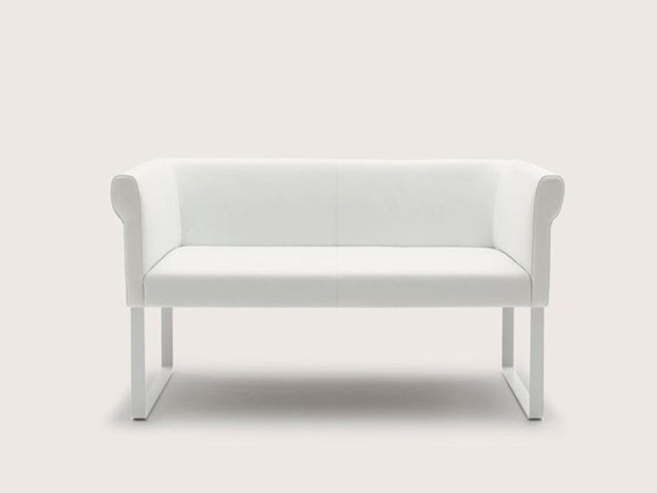 Nice Upholstered Bench Small Sofa Quant Collection By COR Sitzmöbel Helmut Lübke  | Design Alfred Kleene,
