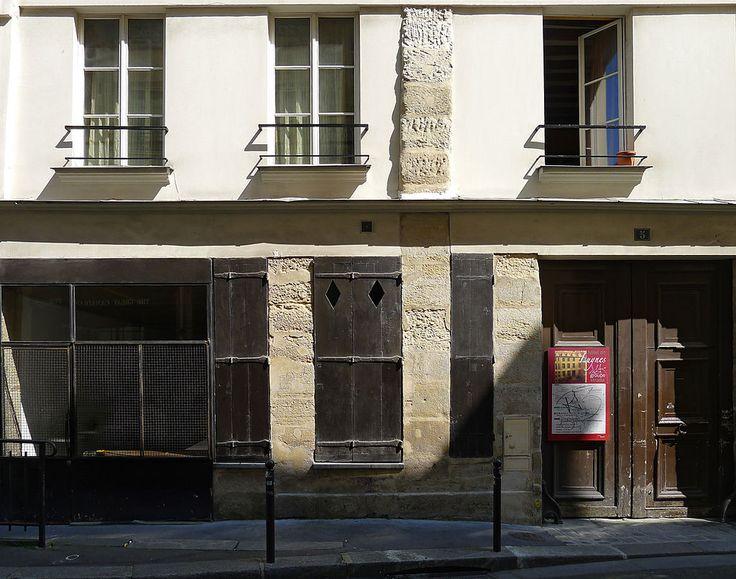 Paris VI - 5 rue Git-le-Coeur - Ancien Hôtel de Luynes .