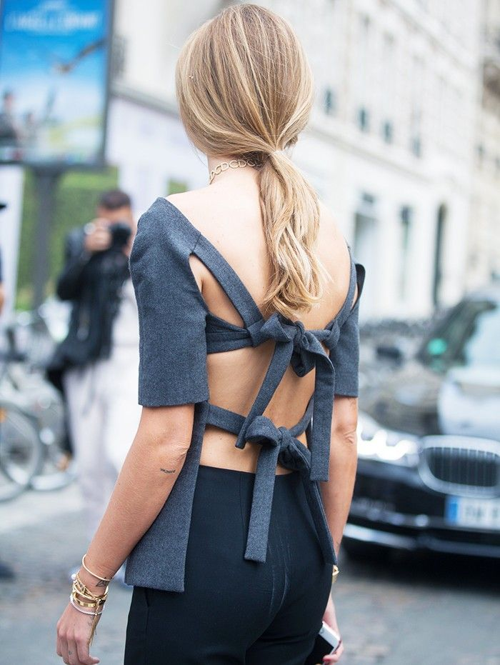 Lessons in Chic: 35 Couture Fashion Week Street Style Looks via @WhoWhatWearUK