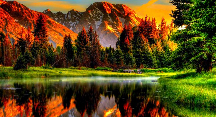 Scenic Sunset-amb-wallpapers