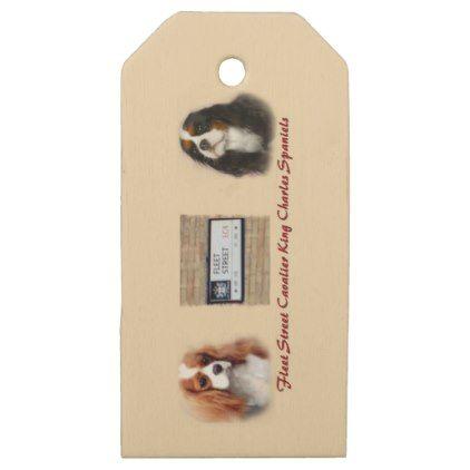 Fleet Street New Wooden Gift Tags - craft supplies diy custom design supply special