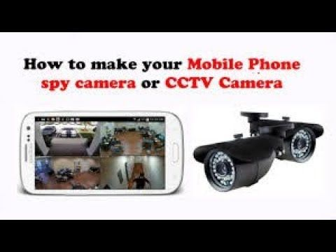 How to make your android phone spy camera or CCTV Camera | Hacker World