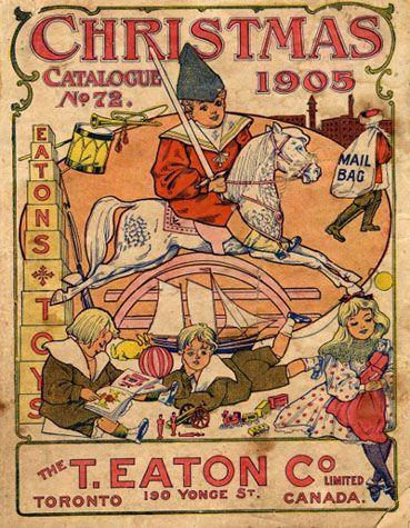 Eaton's Christmas Catalogue for 1905, CharmaineZoe, Flickr