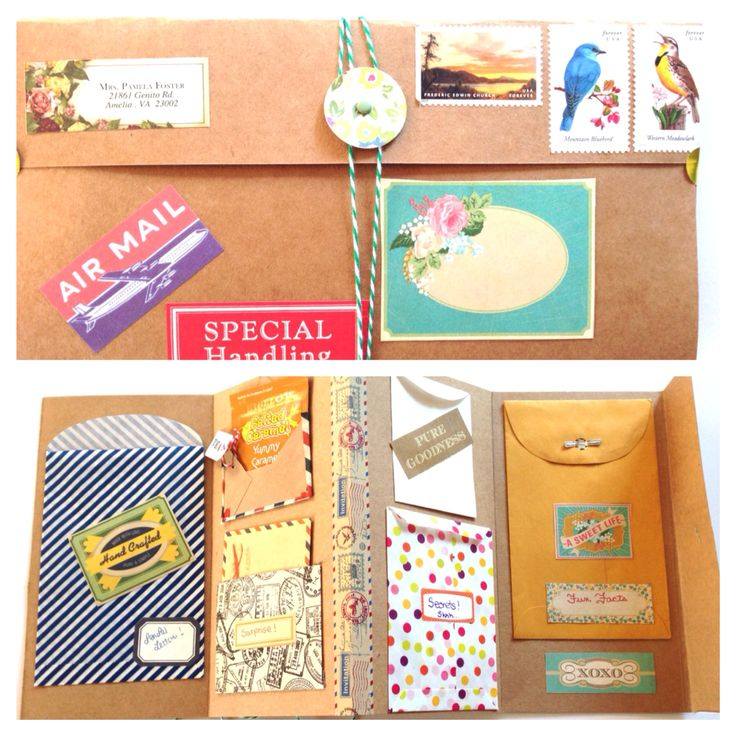 Best Snail Mail  Pretty Packages Images On   Cards