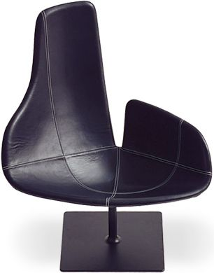 Fjord Relax Chair  Design Patricia Urquiola, 2002  Polyurethane foam, steel, upholstery  Made in Italy by Moroso