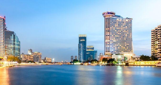 Millennium Hilton Bangkok Hotel - External View