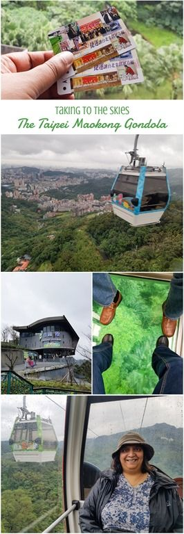 Taking the Gondola cable car from Taipei to Maokong for Taiwanese Tea and Lunch