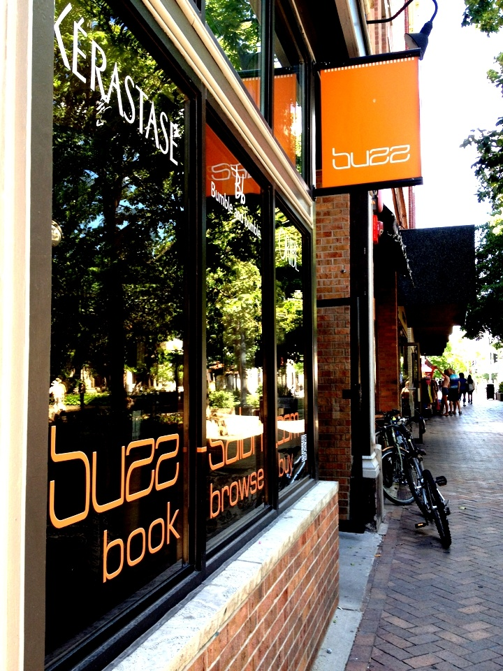 The Beautiful Buzz Salon Located in the Heart of Downtown Iowa City - New location -110 S. Dubuque St.