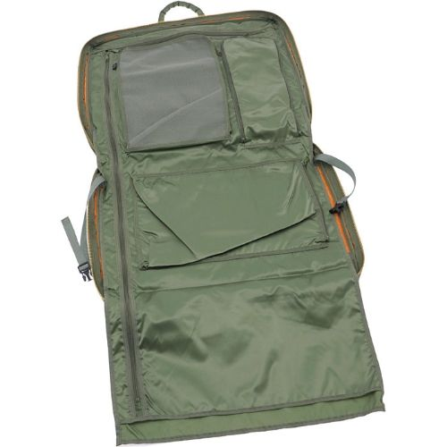 Porter Tanker 2 Way Garment Bag. Product No.:622-07954. Outside: Nylon twill (Polyester cotton bonding finish)/Nylon taffeta. W530/H410/D60. Available in Black, Silver Gray, Khaki