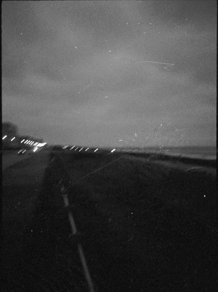 Late night beach