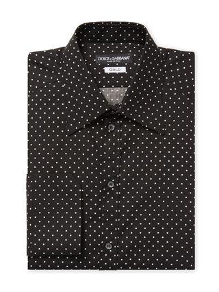 Dots Print Dress Shirt by Dolce & Gabbana