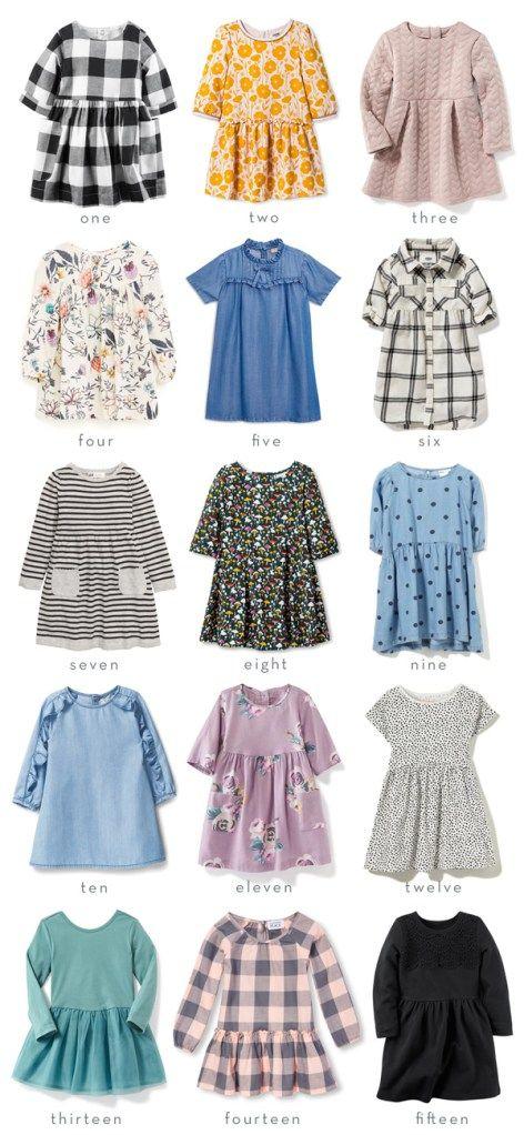 Fifteen Affordable Fall Dresses for Girls | Thrifty Littles Blog