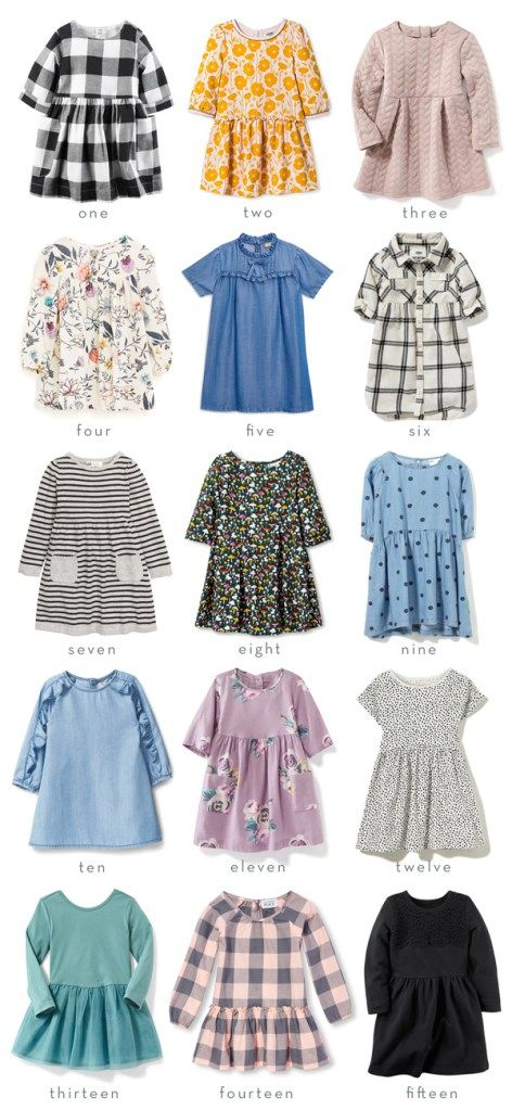 Little Style // Fifteen Affordable Fall Dresses for Girls