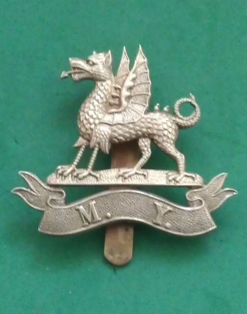 Montgomeryshire Yeomanry Cap badge c.1890s.