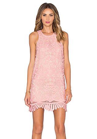 Lovers + Friends x REVOLVE Caspian Shift Dress in Pale Pink   REVOLVE