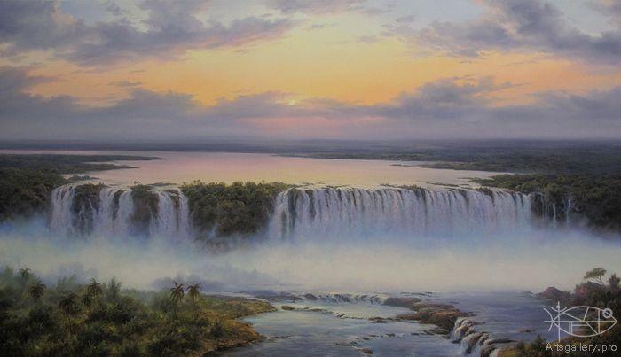 Лыссак Геннадий. 'Голубой Нил'