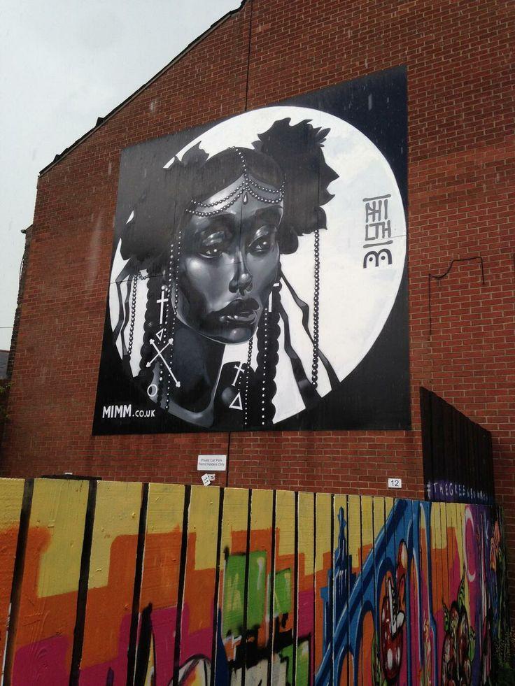 Mimmstore street art, CQ, Nottingham