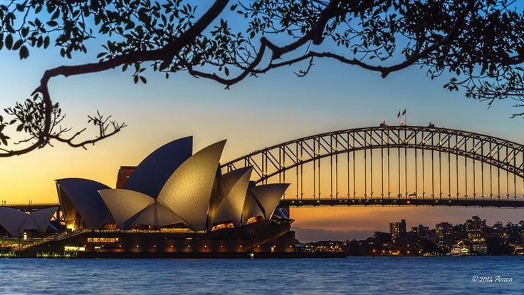 Sunset and The Iconic of Sydney