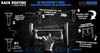 #Calisthenics #bodyfat #lean #muscle |Full Body Workout Routine – Intermediate (Calisthenics) – Bar Brothers