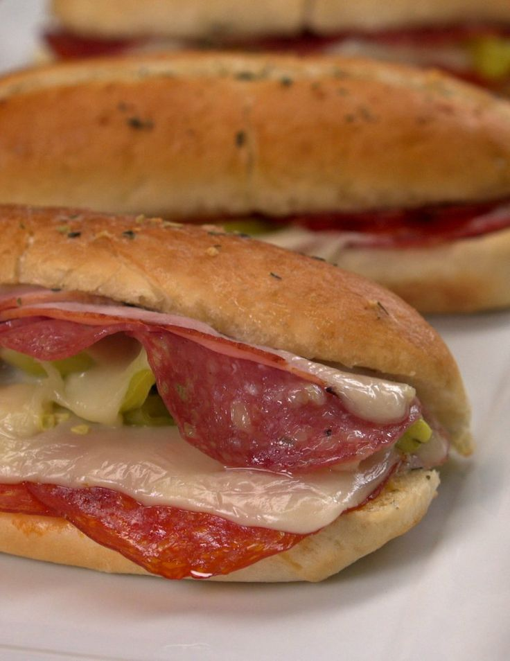 Baked Italian Sandwiches are always a crowd pleaser at my home.