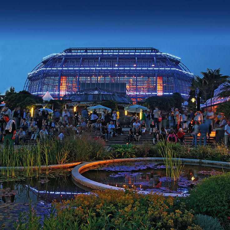 Botanical Garden Berlin Dahlem / Germany