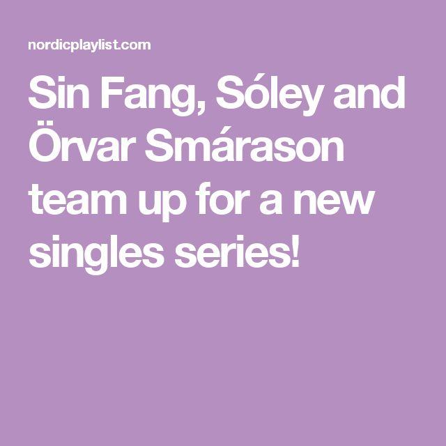 Sin Fang, Sóley and Örvar Smárason team up for a new singles series!