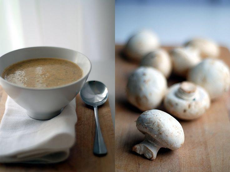 Trufla: Podwójnie pieczarkowa zupa-krem.