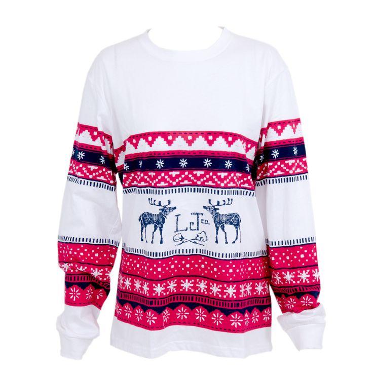 Lauren James Women's L/S Christmas Shirt Red - $48