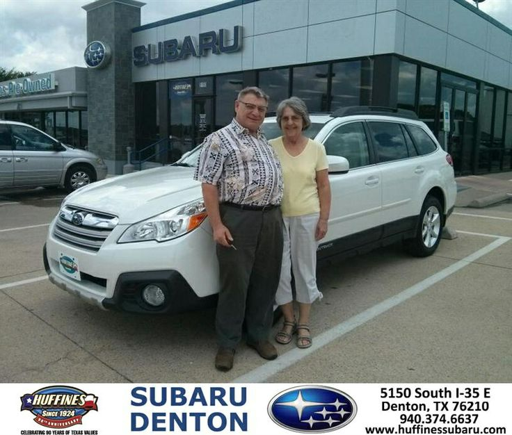 Congratulations to Marvin Bottke on your #Subaru #Outback purchase from Michael Raupp at Huffines Subaru Denton! #NewCar