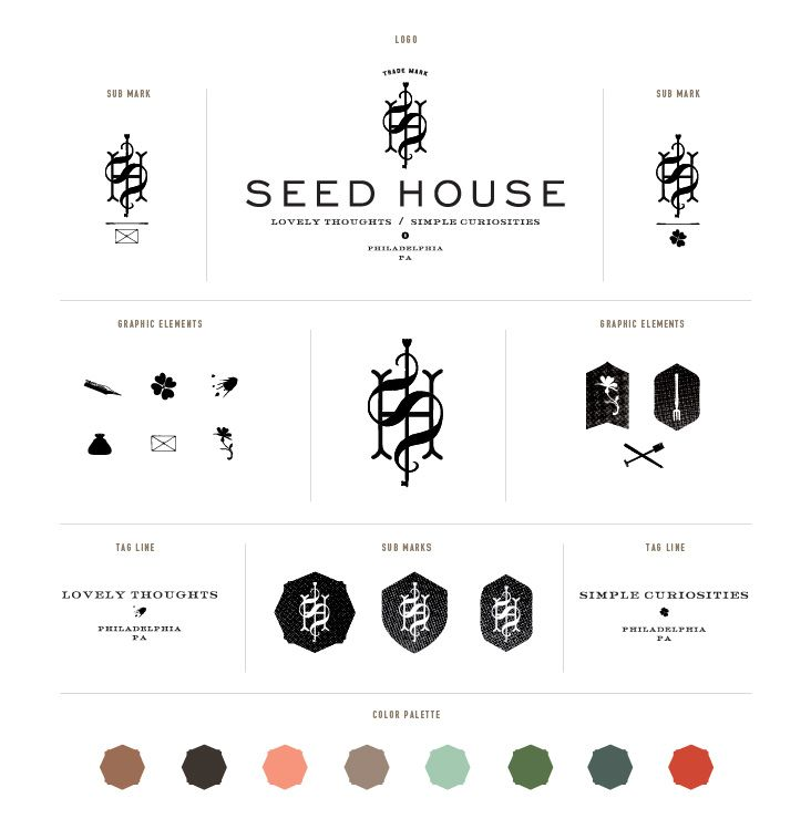 Seedhouse logo and other Logos from Stitch (amazing logo designers) and list of other award winners in logo and design contest.