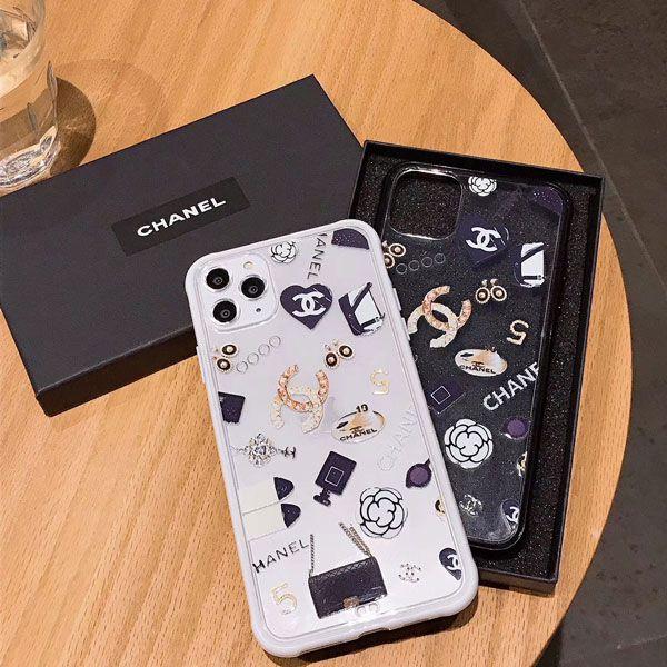 Iphone11 11 Pro Maxケース シャネル Chanel クリア 透明デザイン ファッションエレメント きれい 人気ブランド 可愛い Chanel Iphone11pro Xr Xs Maxケ Luxury Iphone Cases Chanel Iphone Case Tumblr Phone Case
