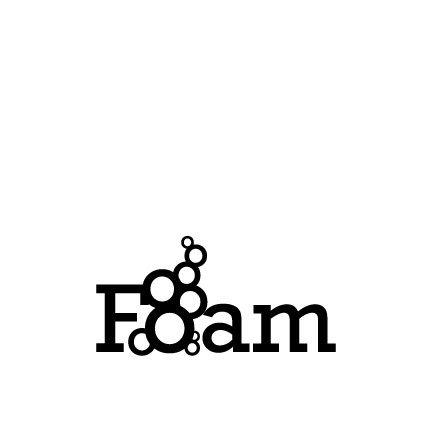 Foam typogram