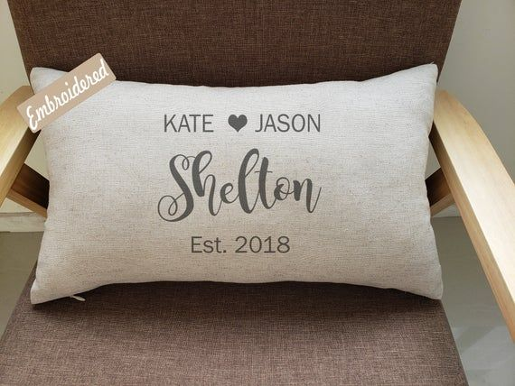 Personalized Name Couple Pillowcases