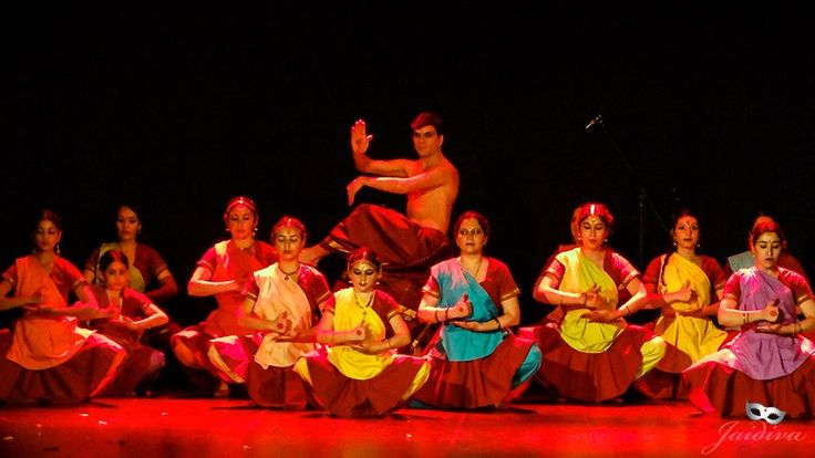Indian Classical Dancers from Kali Ma School of Dance, Chile. Teacher/Dancer…