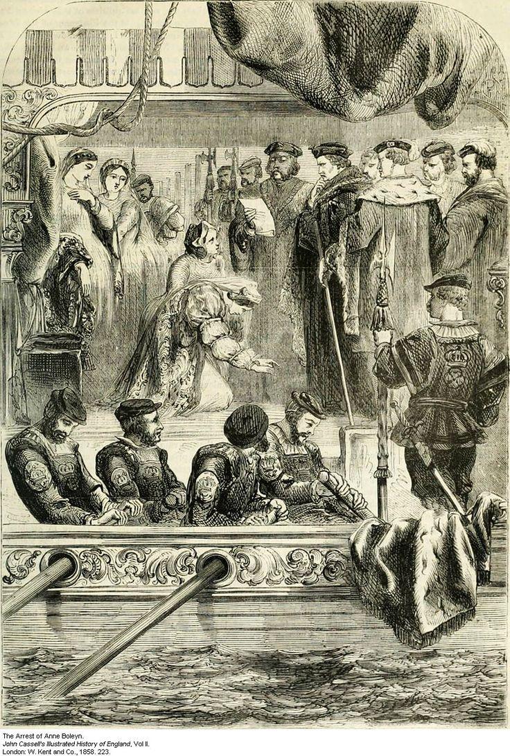 Anne Boleyn Arrest