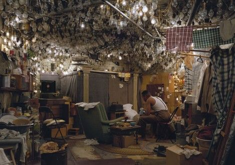 Jeff Wall - After 'Invisible Man' by Ralph Ellison, the Prologue 1999–2000