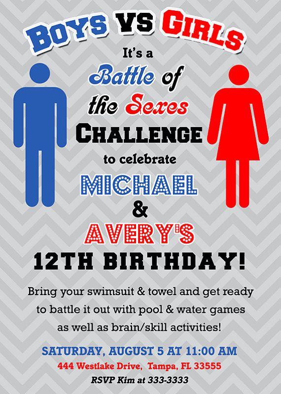 Battle of the sexes game ideas photos 82