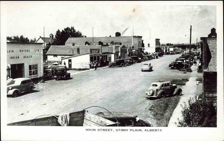 Stony Plain 1940