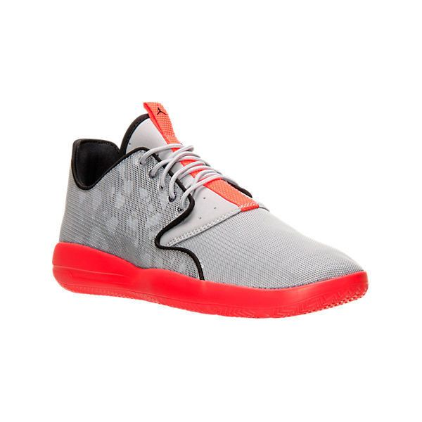 Jordan Eclipse - Boys' Grade School - Wolf Grey/Infrared 23/Black/Cool Grey  | kids | Pinterest | Gray, Black and Shoe game