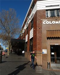 Columbian: I am in Sydney and have just run into an old friend, the Colombian Hotel on Oxford Street...[design blog]