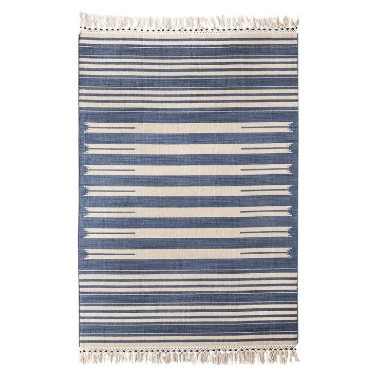 Mudhut Beaded Flatwoven Stripe Area Rug Home Living Room Pinterest Stripes Target And