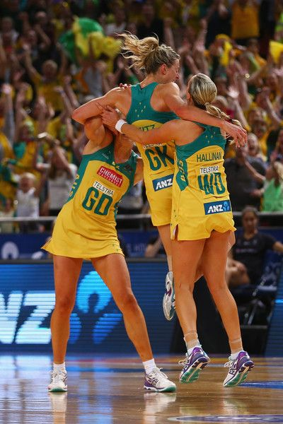 netball world cup australia - corletto, geitz and hallinan <3