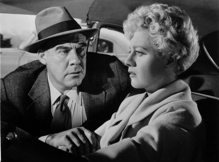 Shelley Winters and Paul Douglas in Executive Suite (1954)