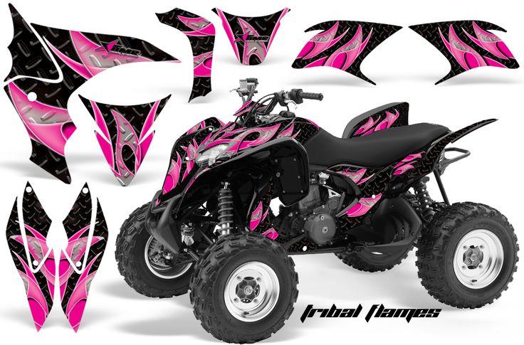 pink honda atv | Honda TRX 700XX ATV Quad Graphic Kit. I like the colors. But need to find them for my TRX 400EX