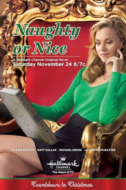 hallmark christmas movies | the hallmark channel movie naughty or nice will debut on november 24 ...