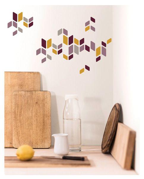 zeitloser #Deko-Sticker Salamanca in gedeckten #Farben. #Wandsticker #Wandtattoo